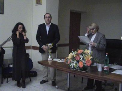 Marcella Ferraro, Angelo Cocozza e Maria Pia De Martino