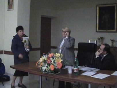 Carmela Parlato, Maria Pia De Martino e Angelo Cocozza
