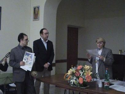 Salvatore Lagravanese, Angelo Cocozza e Maria Pia De Martino