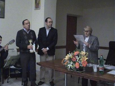 Claudio Prili, Angelo Cocozza e Maria Pia De Martino