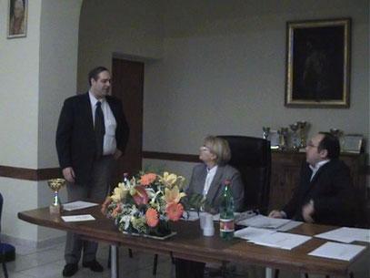 Roberto Bigotto, Maria Pia De Martino e Angelo Cocozza