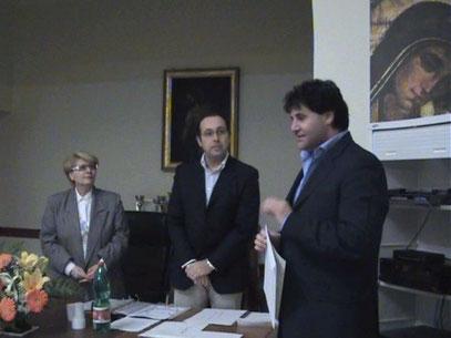 Maria Pia De Martino, Angelo Cocozza e Ciro Cianni