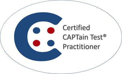 CAPTain Test® Zertifizierung, Schulung, Werden Sie ein CAPTain Test® Anwender; Lernen Sie mit Hilfe des CAPTain Test® unterschiedlichste Prozesse zu gestalten: von der Auswahl, über das Training / Coaching bis hin zur Evaluation von Entwicklungsprozessen