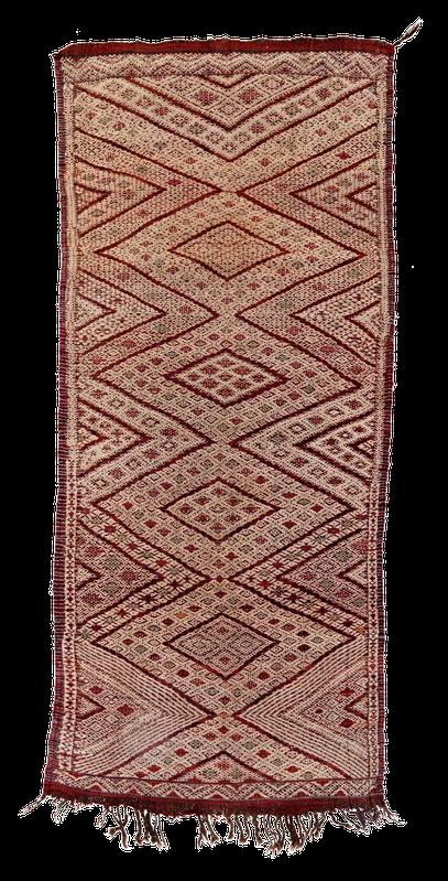 Nomaden Teppich, Zürich. Vintage kilim, Kelim Hanbel aus Marokko