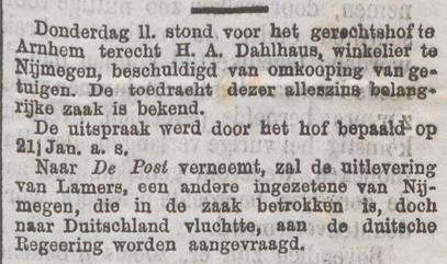 De Tijd : godsdienstig-staatkundig dagblad 21-01-1886