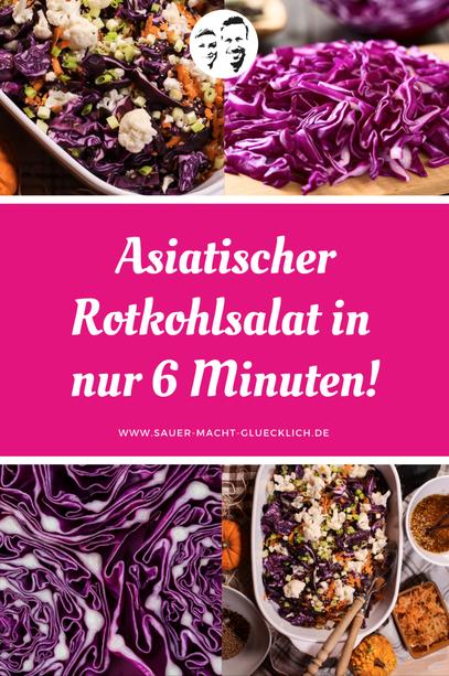 Keine Zeit? Rotkohlsalat in 6 Minuten!