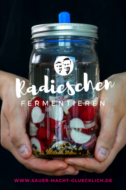 Radieschen fermentieren in nur 3 Minuten!