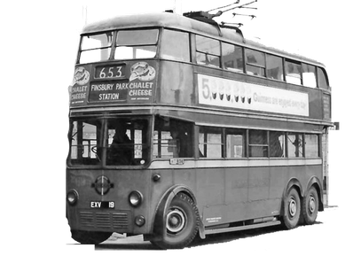 Photo of British culture: vintage 1950s London omnibus