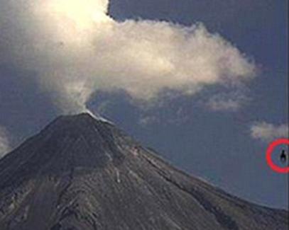 extraterrestre volcan