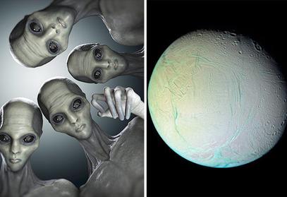 extraterrestre saturne