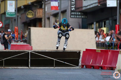 C.Marillier in the timed runs / Photo by Luis Velasco Hevia