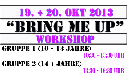 NEUER WORKSHOP ONLINE!!