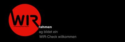 ag bildet ein - WIR-Check willkommen