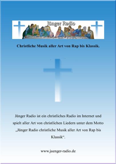 Plakat von Jünger Radio