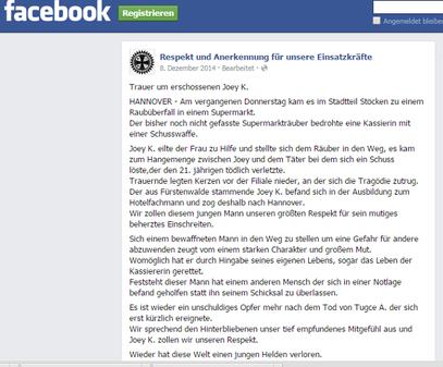 08-12-2014 - FB Respekt u. Kommentare - klick auf das Bild