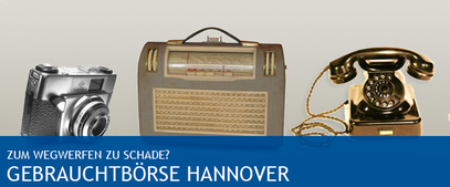 Gebrauchtbörse Hannover - klick mich...