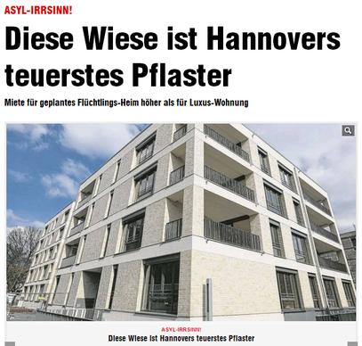 Flüchtlings-Heim höher als für Luxus-Wohnung v.17.04.2013 - klick mich...