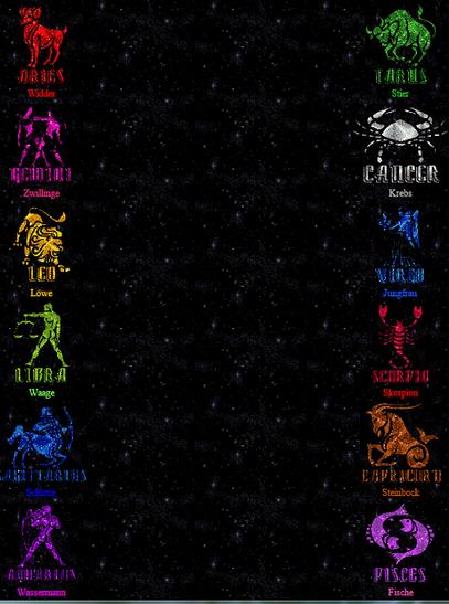 klick mal auf das Bild dwer 12 Sternzeichen und staune...