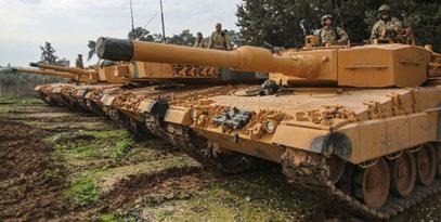 Tyske Leopard-kampvogne deltager i krigen mod kurderne
