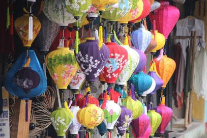 Une des spécialités de Hoi An : les lanternes