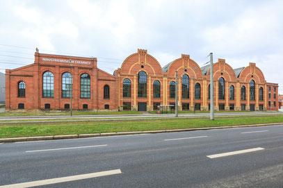 Ehemalige Gießerei Escher AG, saniert zum Industriemuseum Chemnitz