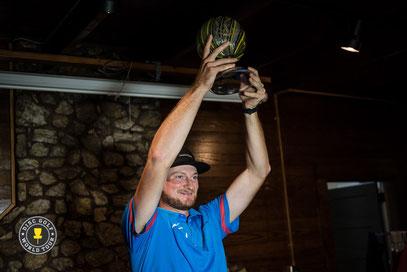 Jeremy Koling, vainqueur de l'ultime manche du DGWT