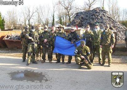 Teamfoto der Regierungstruppe (Foto: GTS)