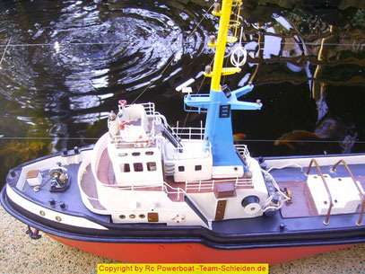 Schlepper Bankert V Billing Boats Rc Powerboat Team