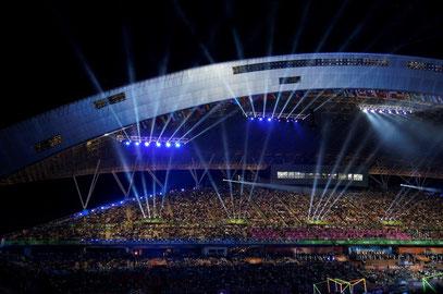 Eröffnungszeremonie Universiade 2015