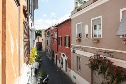 Studio view on Paglia street