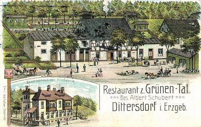 Frühlingsansicht um 1905