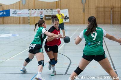 Nummer 4 Mona Schmitt für die TG Osthofen