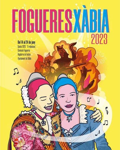 Fiestas en Xàbia Jávea Fogueres Hogueras de San Juan