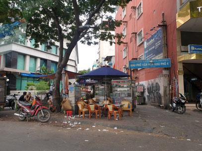 Cafe in Saigon HCMC Vietnam
