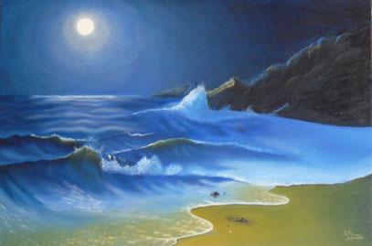 """""""spiaggia al chiaro di luna"""""""