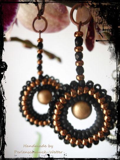 bronze-schwarz