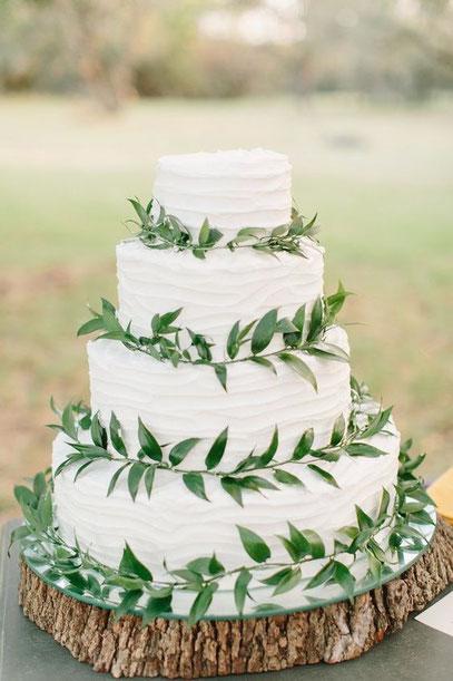 gâteau de mariage éco-responsable