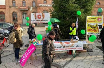Demo gegen Wiesenhof