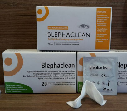 Blephaclean Test (Trockene Augen, Sicca Syndrom)