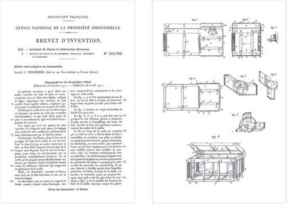 patent unbreakable trunk moynat
