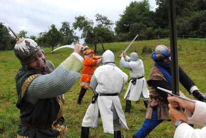 Bild von den Ritterspielen