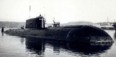 """الغواصات النووية الهجومية..للبحرية السوفييتية .""""الجزء الاول """" Image"""