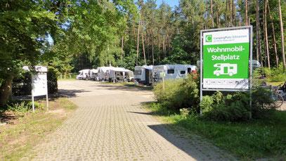 Stellplatz Campingplatz Ecktannen in Waren a.d. Müritz (Mecklenburg-Vorpommern)