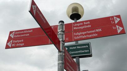 Rendsburg zwischen Eider und NOK