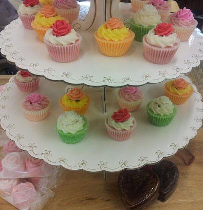 Seifen-Cupcakes aus Dänemark