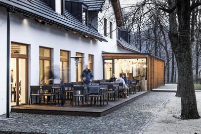 Terrassenüberdachung Restaurant