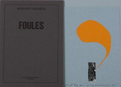 Bernard Heidsieck Foules, 1974, Guy Schraenen éditeur artists' books Künstlerbücher livres d'artistes
