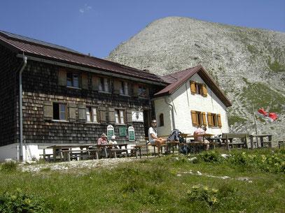 Am Kaiserjochhaus