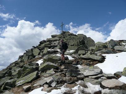 Am Gipfel der Mutspitze