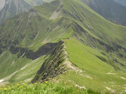 Gratweg zur Bschlabser Kreuzspitze